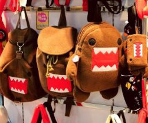 domo, bag, and domo kun image