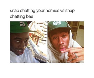 bae, snapchat, and friends image