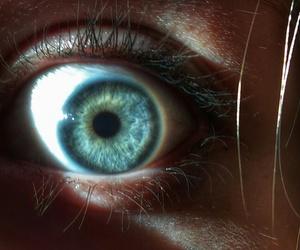 eyes blue sun image