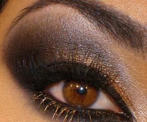 eye, make up, and makeup image