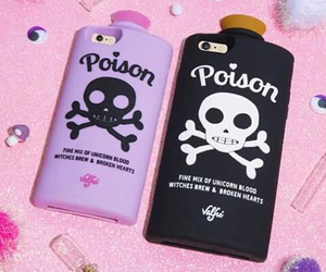 poison, case, and iphone image