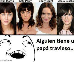 katy perry, funny, and Emily Blunt image
