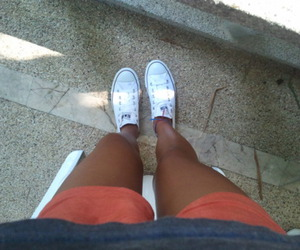 summer, tan, and legs image
