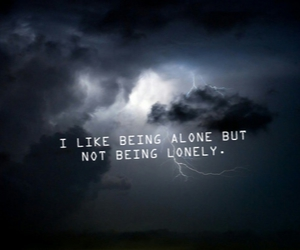 alone, quotes, and storms image