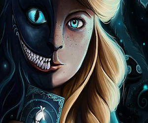 alice in wonderland, background, and wallpaper image