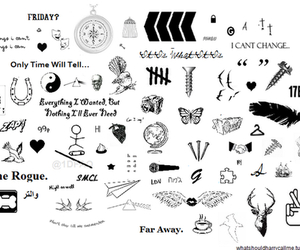 tattos and one direction image