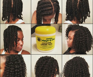 hair, curlyhead, and natuals image