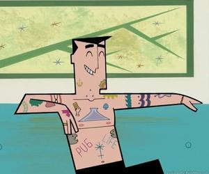 tattoo, cartoon, and grunge image