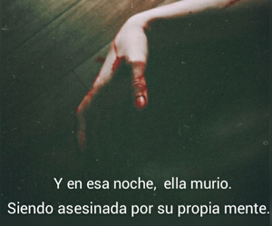 frases, blood, and mente image