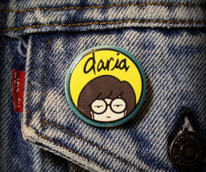 Daria, fashion, and grunge image