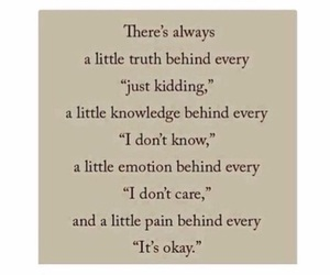 quotes, truth, and pain image