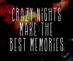 memories, crazy, and night image