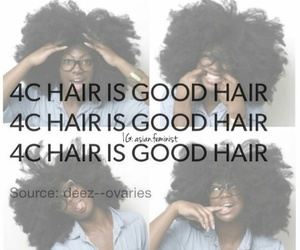 Afro, hair, and 4c hair image