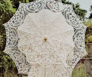 vintage, white, and lace image