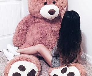 girl and bear image