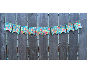 banner, etsy, and fabric image