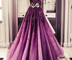 dress and purple image