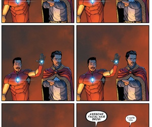 Marvel, iron man, and tony stark image