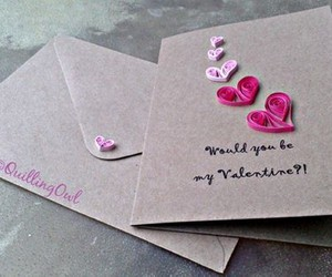 Valentine's Day, diy projects, and valentine's cards image