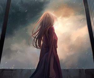 anime girl, art, and illustration image