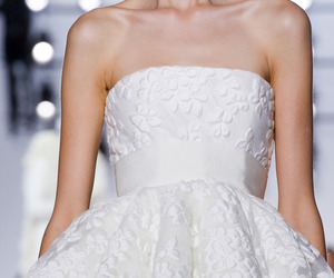 dress, white, and Giambattista Valli image