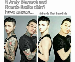 rock, black veil brides, and falling in reverse image