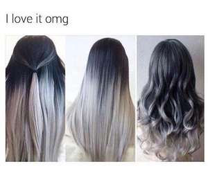 grey, hair, and loveit image