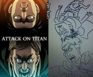 levi, snk, and Erwin image