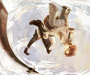 levi, anime, and attack on titan image