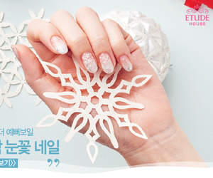 elegant, etude house, and manicure image