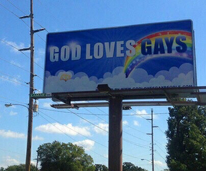 gay, god, and blue image