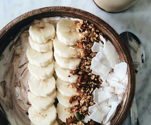 coconut, food, and yummy image