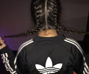 adidas, tumblr, and hair image