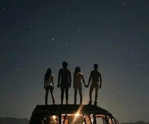 dreams, night, and friends image