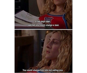 carrie, Carrie Bradshaw, and quote image