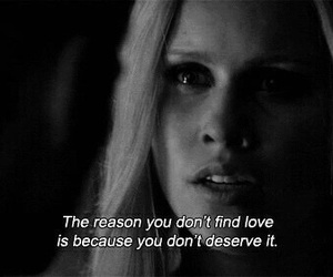 love, quote, and tvd image