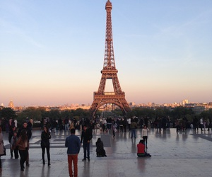 eiffel, fall, and year image