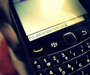 love, text, and blackberry image