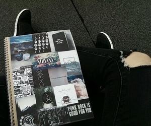 black, cool, and leg image