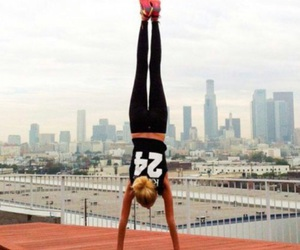 girl, sport, and fitness image