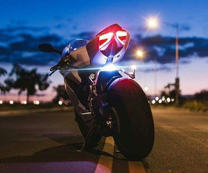 biker, moto, and motorcycle image