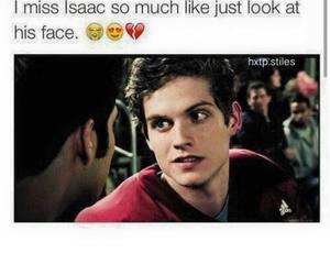 teen wolf and isaac lahey image