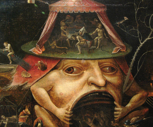 hell, hieronymus bosch, and painting image