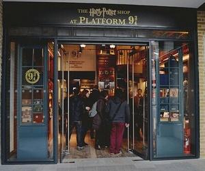 harry potter, shop, and vintage image