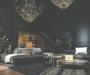 black, home, and house image