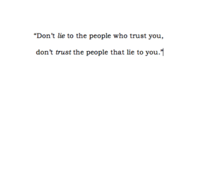liar, quotes, and words image