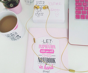 pink, girly, and apple image