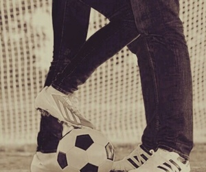 football, love, and couple image