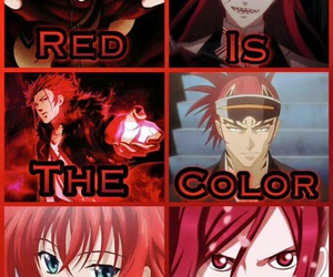 anime, gaara, and red image