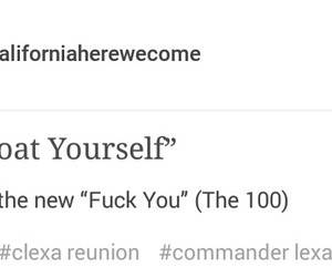 the 100 and clexa image
